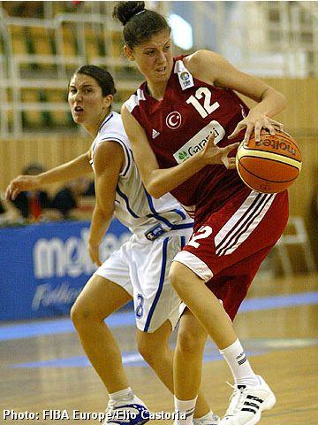 Bahar Çağlar Basketbol Ümit Milli Takım 2005