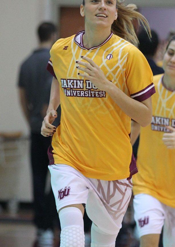 Bahar Çağlar Basketbol Yakın Doğu Üniversitei