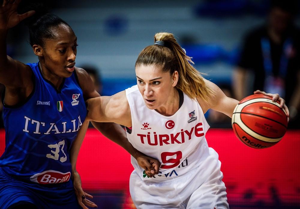 Bahar Çağlar Türkiye - İtalya Eurobasket